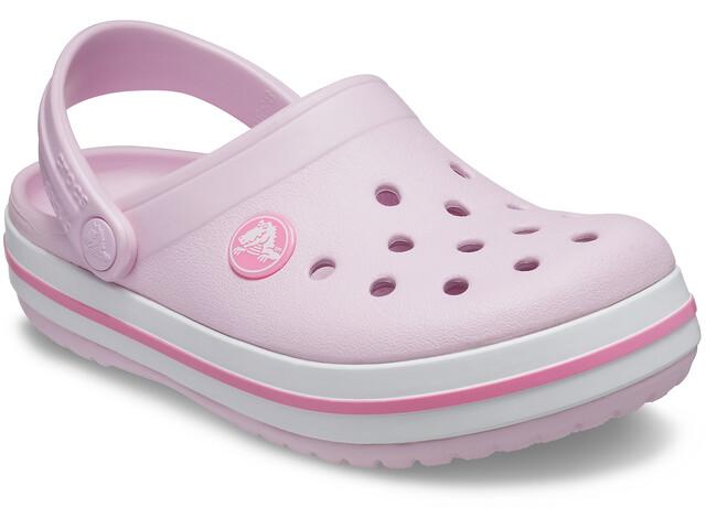 Crocs Crocband Clogs Niños, ballerina pink